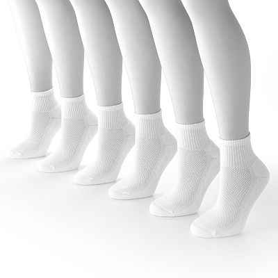 Jockey 6-pk. Sport StayCool 1/4-Crew Socks
