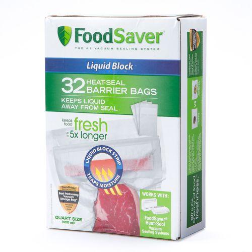 FoodSaver Heat-Seal Barrier Bags 32-pk.