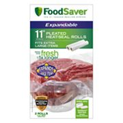 FoodSaver 11-in. Expandable Heat-Seal Rolls 2-pk.
