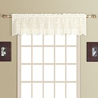 United Curtain Co. Rochelle Lace Valance - 56'' x 16''
