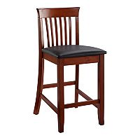 Linon Triena Craftsman Counter Stool
