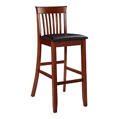 Linon Triena Craftsman Bar Stool