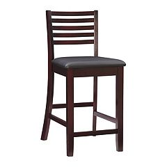 Linon Triena Ladder-Back Counter Stool