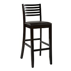 Linon Triena Ladder-Back Bar Stool