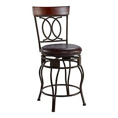 Linon O & X Counter Stool