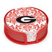 Thirstystone Georgia Bulldogs 4 pc Coaster Set