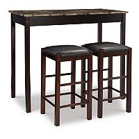 Linon 3 pc Tavern Counter Set