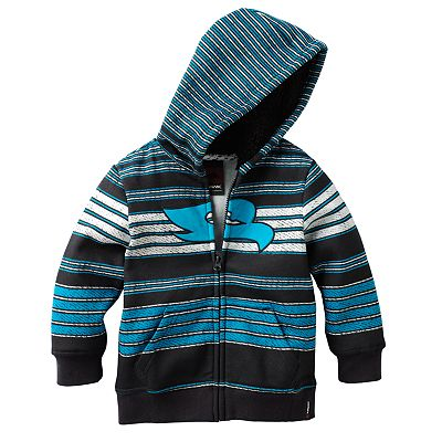 Tony Hawk Striped Fleece Hoodie - Toddler