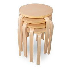 Linon Brentwood 4 pc Stool Set