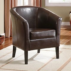 Linon Simon Club Chair