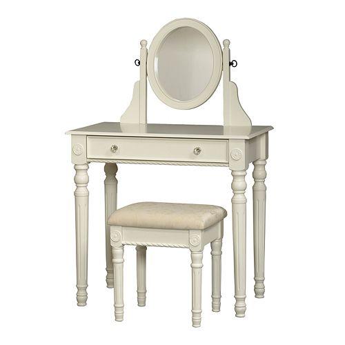 Linon Vanity Set: Linon Lorraine 2-pc. Vanity Set