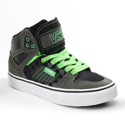 Vans Allred High-Top Skate Shoes - Boys