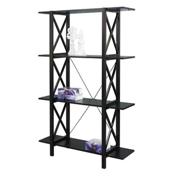 Linon Anna Double Bookcase