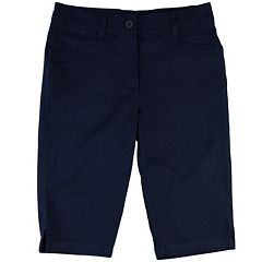 Girls 7-16 Chaps Twill School Uniform Skimmer Pants