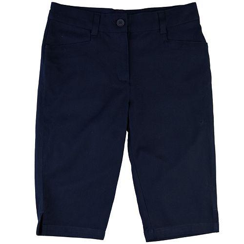 Girls 7-16 Chaps Twill School Uniform Skimmer Pants