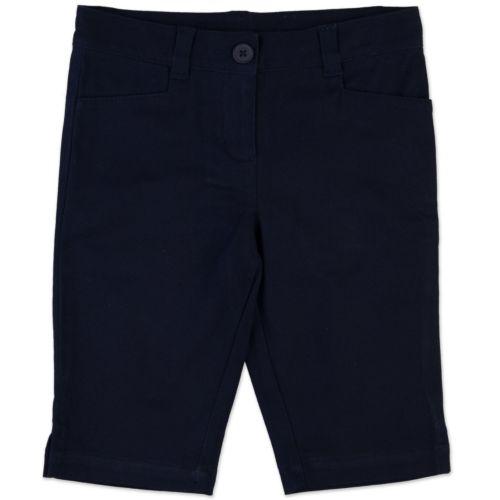 Chaps Twill School Uniform Skimmer Pants - Girls 4-6x