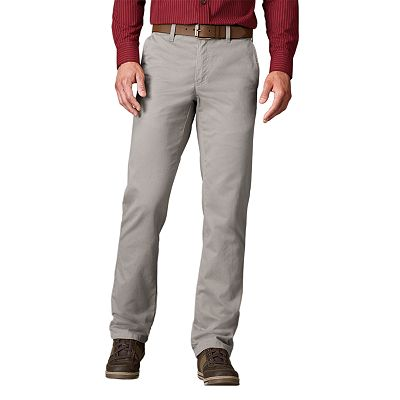 SONOMA life + style Straight-Fit Twill Flat-Front Pants - Big and Tall