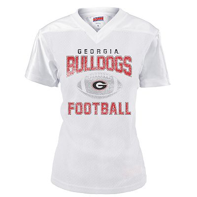 Soffe Georgia Bulldogs Mesh Football Jersey