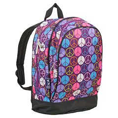 Wildkin Peace Sign Sidekick Backpack - Kids