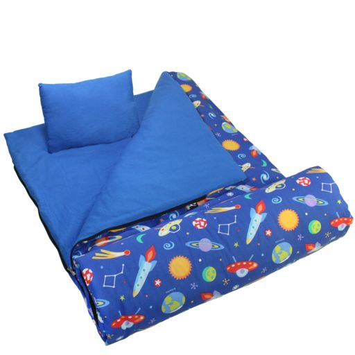 Wildkin Olive Kids Out of This World Sleeping Bag - Kids