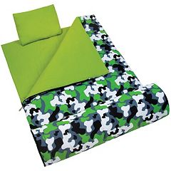 Wildkin Camo Sleeping Bag - Kids