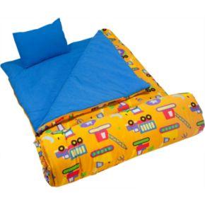 Wildkin Olive Kids Under Construction Sleeping Bag - Kids