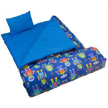 Wildkin Olive Kids Robots Sleeping Bag Kids