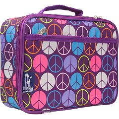 Wildkin Peace Sign Lunch Box - Kids