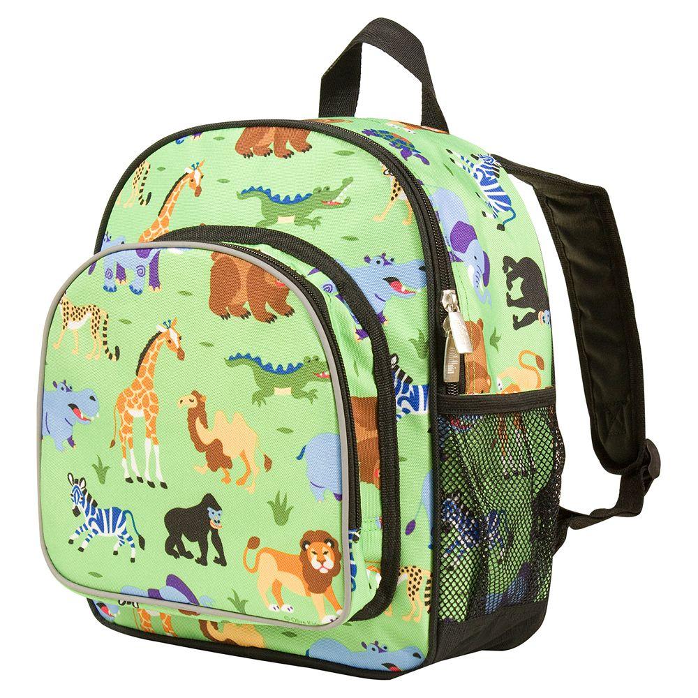 608ae83eea07 Wildkin Olive Kids Wild Animals Pack  n Snack Backpack - Kids