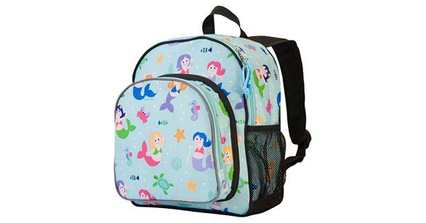 Wildkin Olive Kids Mermaid Pack N Snack Backpack Kids