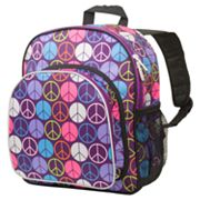 Wildkin Peace Sign Pack 'n Snack Backpack - Kids