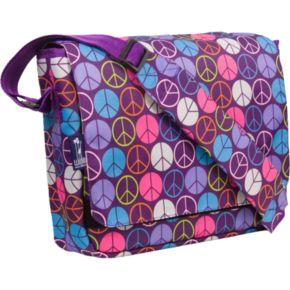 Wildkin Peace Sign Kickstart Messenger Bag - Kids