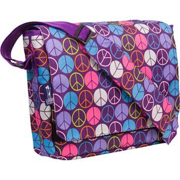 Wildkin Peace Sign Kickstart Messenger Bag - Kids