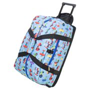 Wildkin Olive Kids Trains, Planes and Trucks Good Times Rolling Duffel Bag - Kids