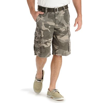 Lee Wyoming Camo Cargo Shorts - Men