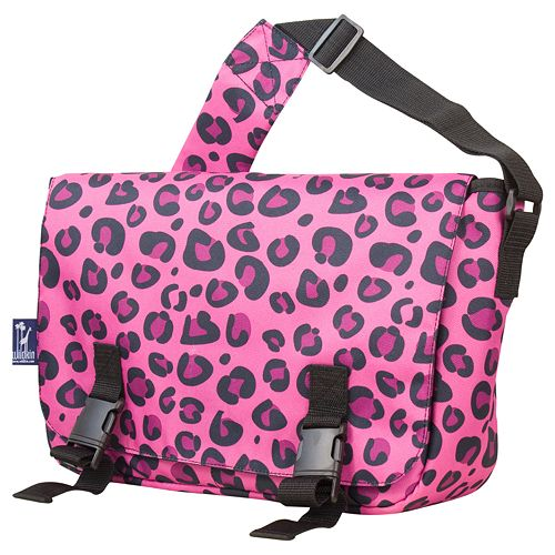 Wildkin Leopard Jumpstart Messenger Bag - Kids