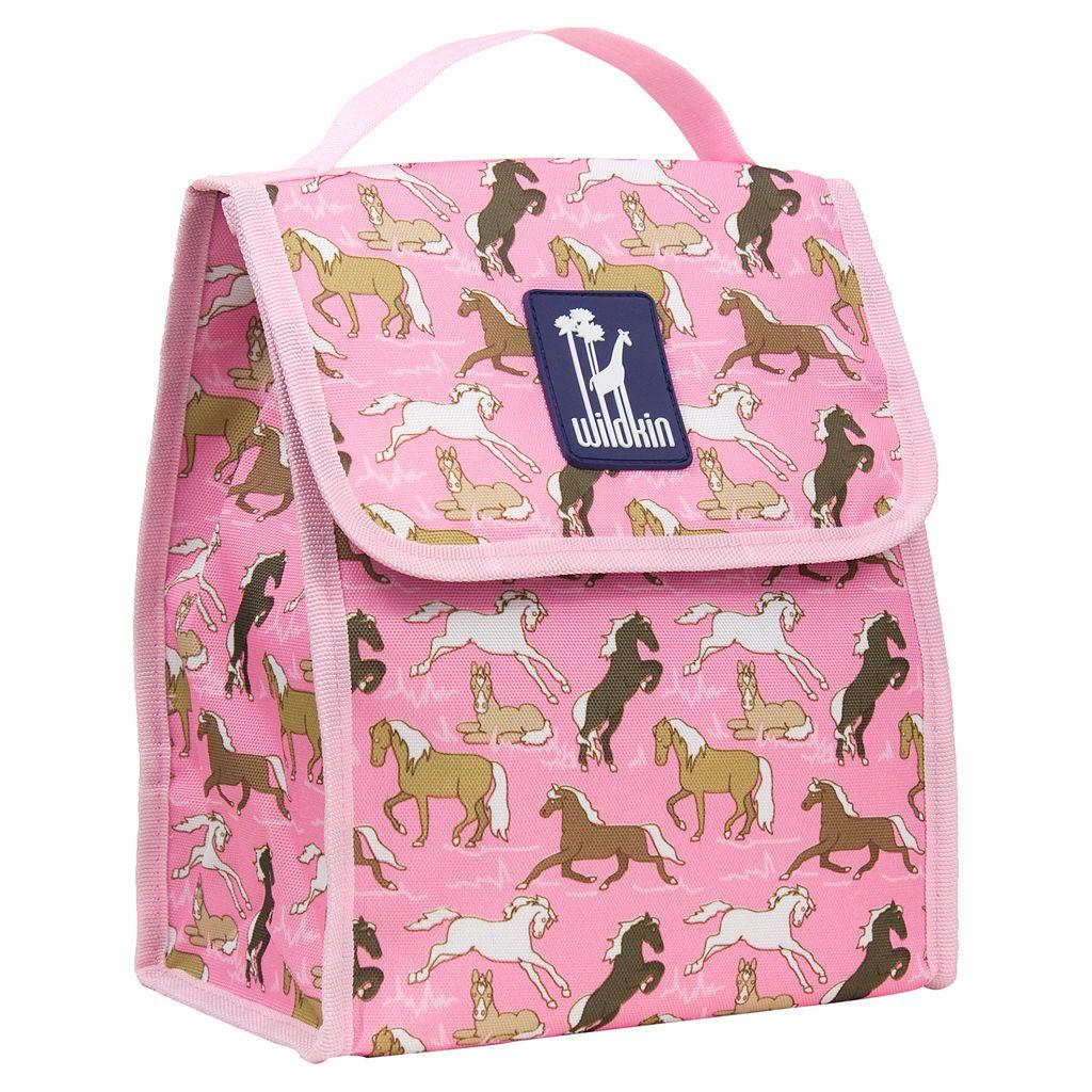 Wildkin Horse Munch 'n Lunch Bag - Kids