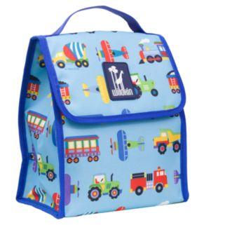 Wildkin Olive Kids Trains, Planes and Trucks Munch 'n Lunch Bag - Kids