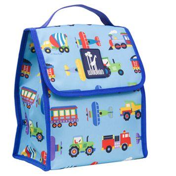 Wildkin Olive Kids Trains, Planes & Trucks Munch 'n Lunch Bag - Kids