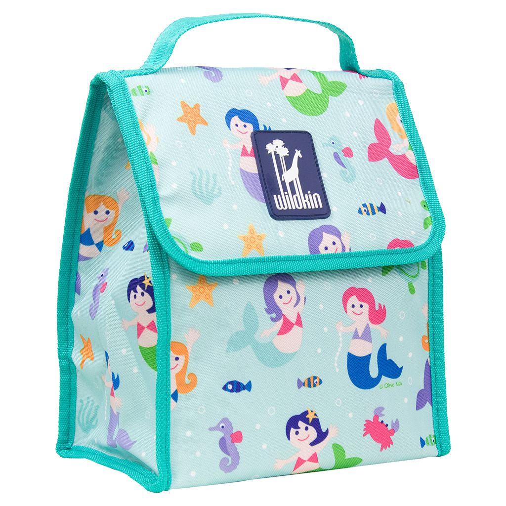 Wildkin Olive Kids Mermaids Munch 'n Lunch Bag - Kids
