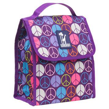 Wildkin Peace Sign Munch 'n Lunch Bag - Kids