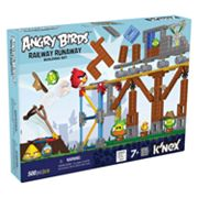 Angry Birds Railway Runway Building Set by K'NEX