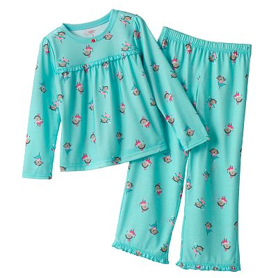 Carter's Ballerina Monkey Pajama Set - Girls
