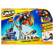 Hasbro Tonka Chuck and Friends Twist Trax Tornado Tower Playset