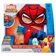 Marvel Spider-Man Adventures Playskool Heroes Web-Slinger and Mask Set by Playskool