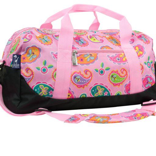 Wildkin Olive Kids Paisley Duffel Bag - Kids