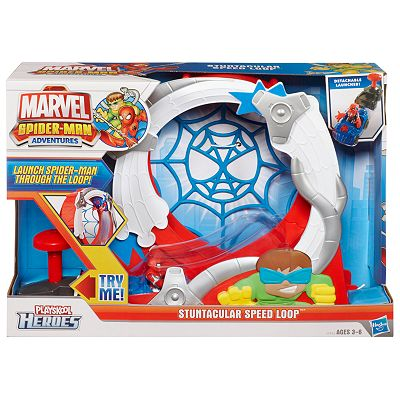Marvel Spider-Man Adventures Playskool Heroes Stuntacular Speed Loop by Playskool