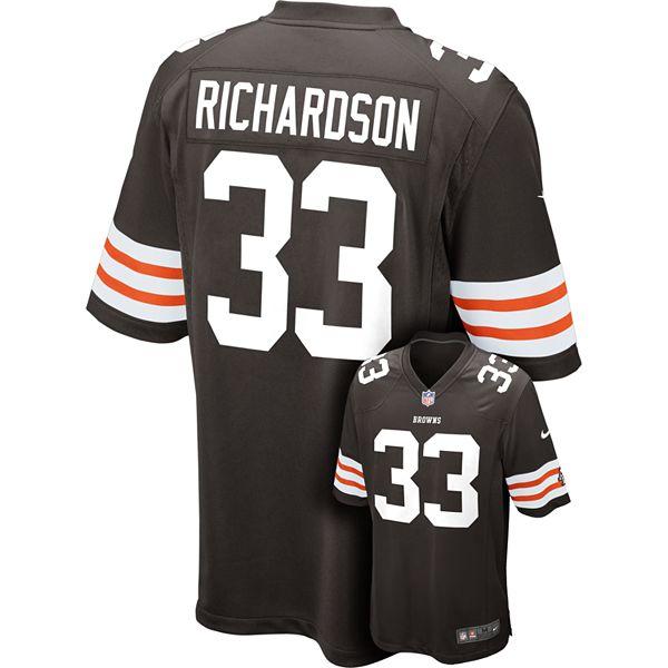 Nike Cleveland Browns Trent Richardson NFL Jersey - Men