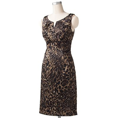 Suite 7 Animal Empire Sheath Dress