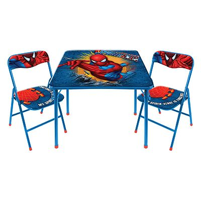Spider-Man Table and Chair Set